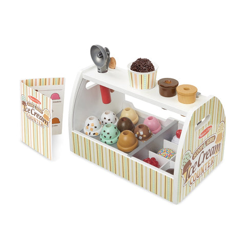 Melissa & Doug Scoop & Serve Ice Cream Counter 3 years+