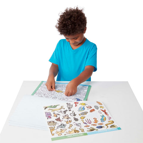 Melissa & Doug Seek & Find Sticker Pad- Animal 4 years+