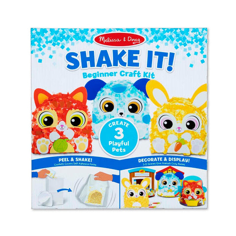 Melissa & Doug Shake It! Deluxe Pets Beginner Craft Kit 3 Years+