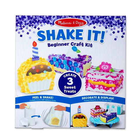 Melissa & Doug Shake It! Deluxe Sweet Treats Beginner Craft Kit 3 years+