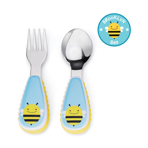 Skip Hop Zoo Utensils Fork & Spoon