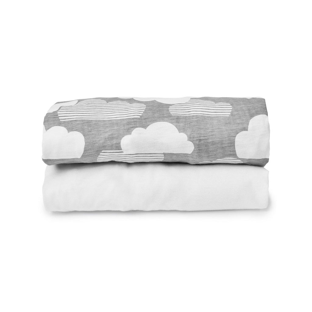Skip Hop Travel Crib Fitted Sheet Set