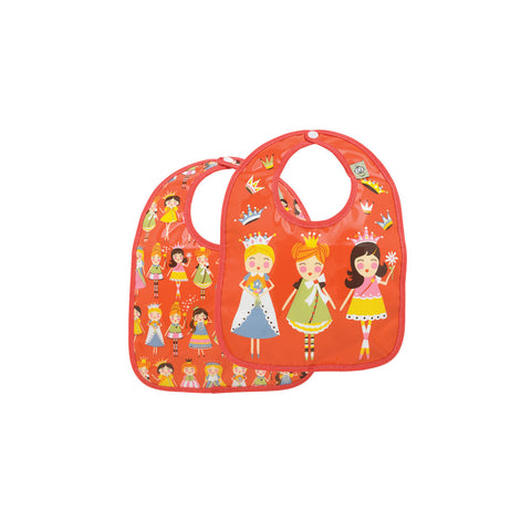 Sugarbooger Princess Mini Bib Gift Set of 2