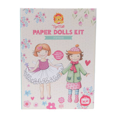 Tiger Tribe Paper Doll Kit
