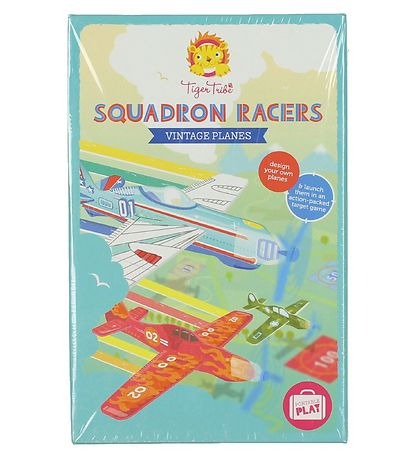 Tiger Tribe Squadron Racers - Vintage Planes