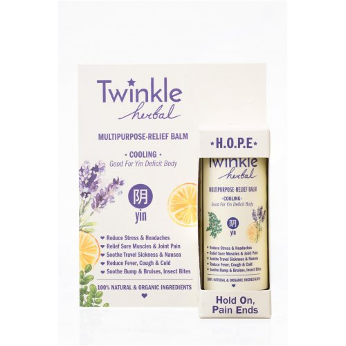 Twinkle Herbal (Cooling) Multi-Purpose Relief Balm