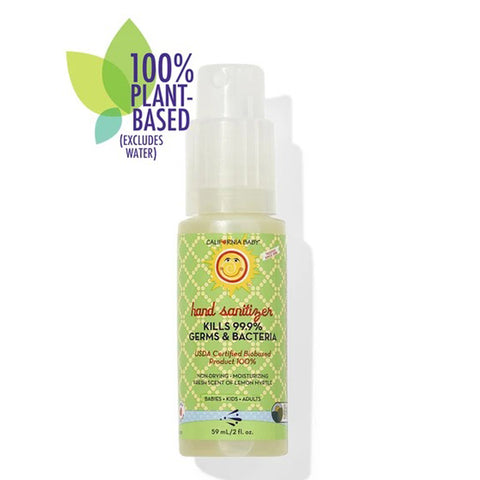California Baby Hand Sanitizer 2oz