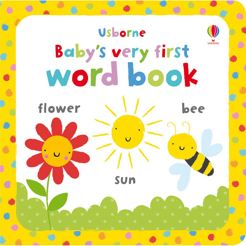 Usborne - Baby's Very First Word Book
