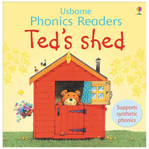 Usborne Phonics - Ted's Shed