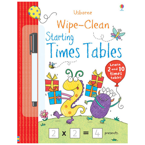 Usborne - Wipe-Clean Starting Times Table