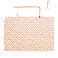 Cambrass Nursing Cover - Zig Zag Coral