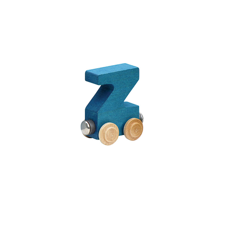 Maple Landmark Magnetic NameTrain - Letter Z