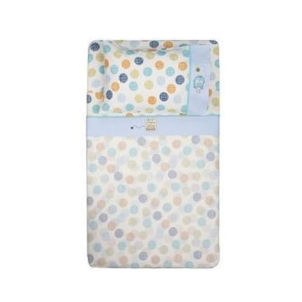 Living Textiles Baby Bot 3 Piece Cot Sheet Set