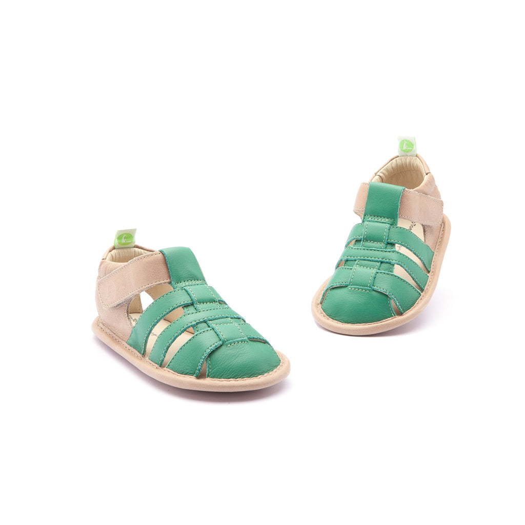 Tip Toey Joey Junior Tropical - Green Leaf
