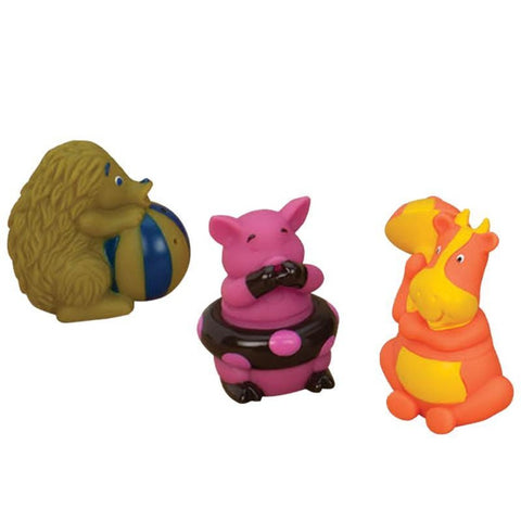 B.Toys Lil Squirts - Pig, Hedgehog, Cow
