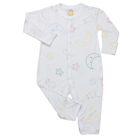 Baa Baa Sheepz Romper Moon & Star