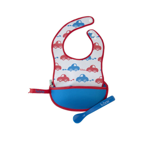 B.Box Travel Bib+Spoon