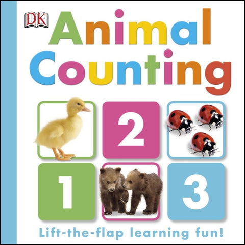 DK Books Animal Counting