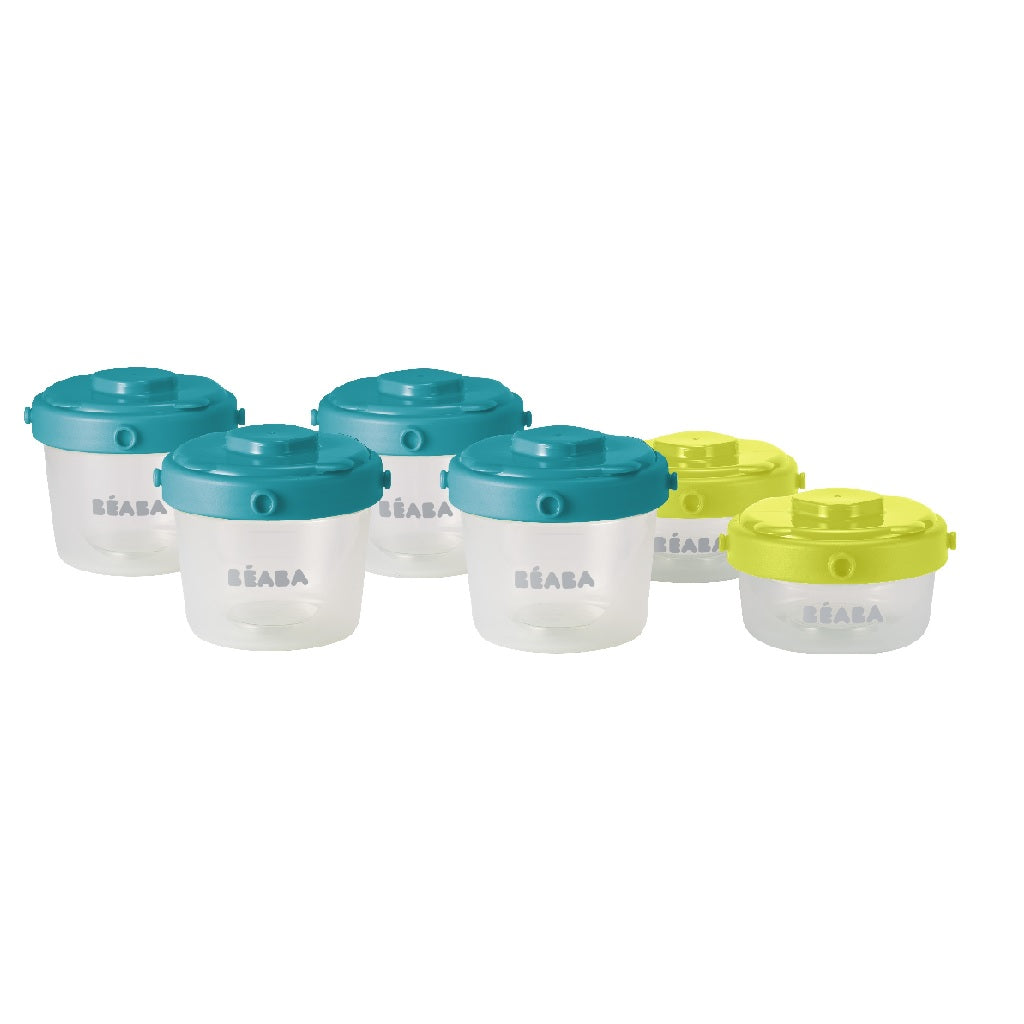 Beaba Clip Portions Container Set of 6