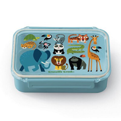 Crocodile Creek Bento Box - Jungle Friends