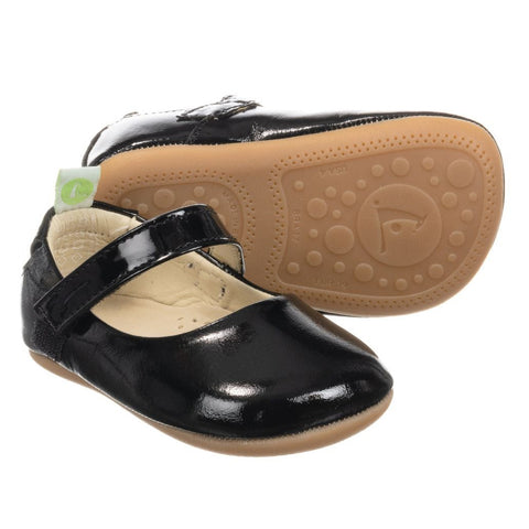 Tip Toey Joey Dolly - Patent Black