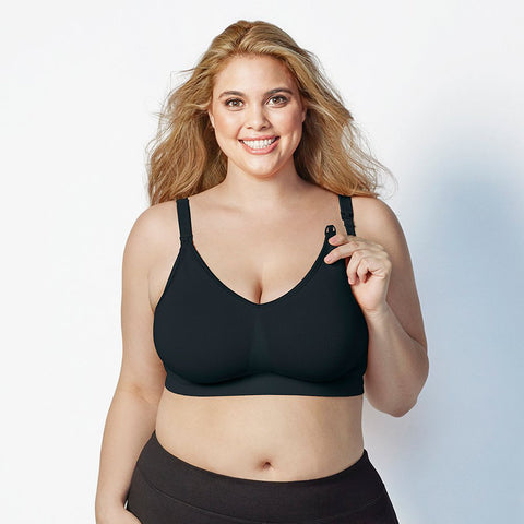 Bravado Body Silk Seamless Nursing Bra Black