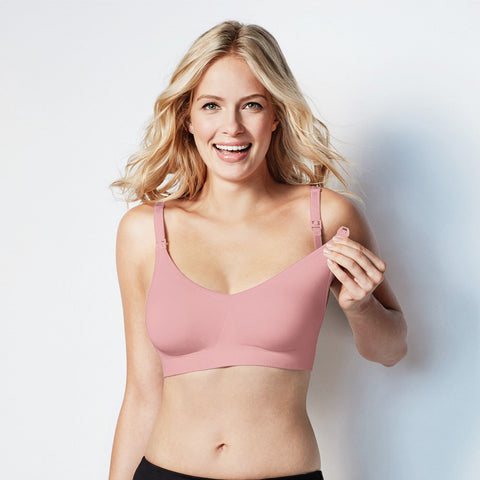 Bravado Body Silk Seamless Nursing Bra Dusted Peony
