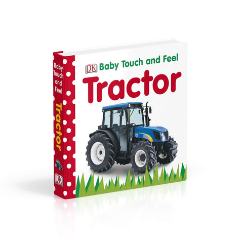 DK Books Baby Touch and Feel Tractor