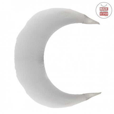 Cambrass Nursing Pillow Moon - Sky Grey/Rain