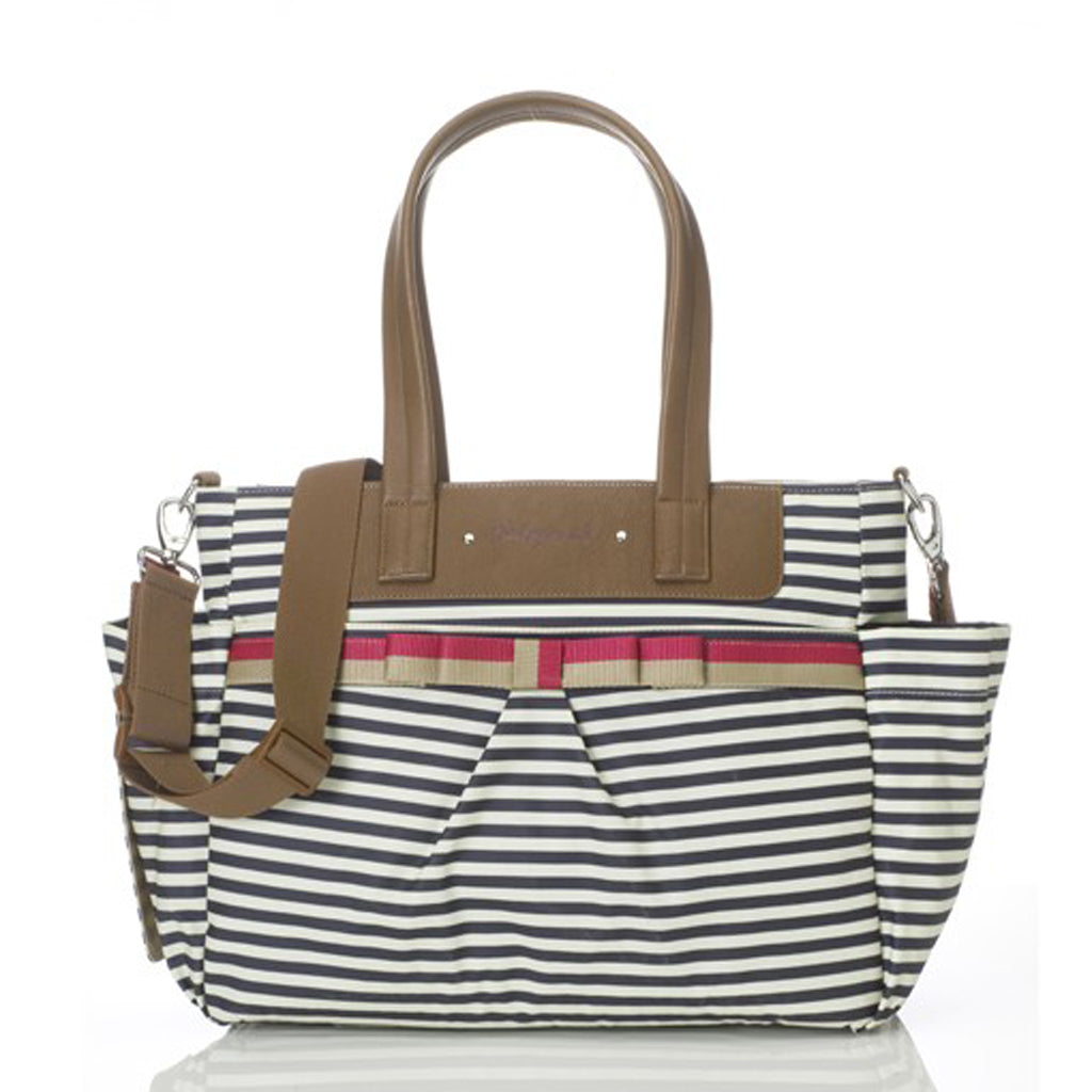 Babymel Cara Changing Bag - Stripe Navy