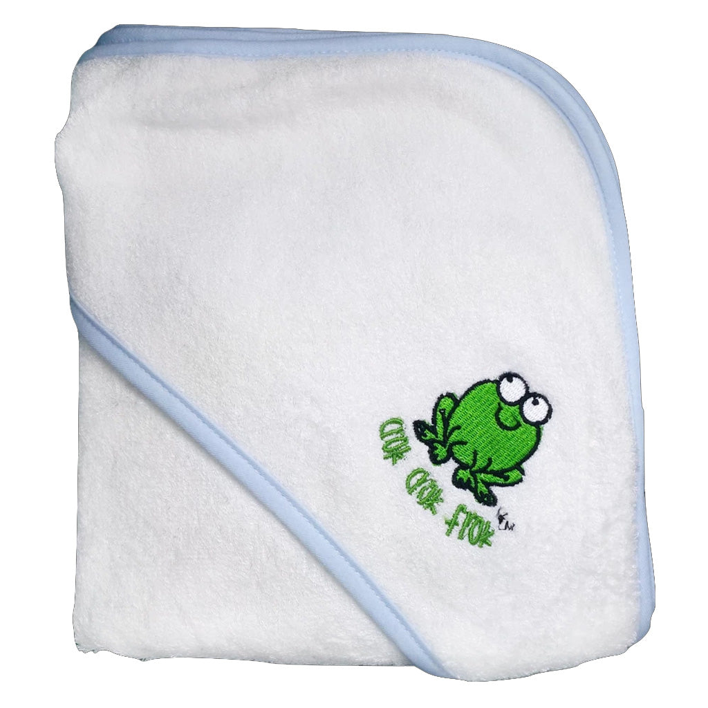 Crokcrokfrok Bamboo Hooded Towel