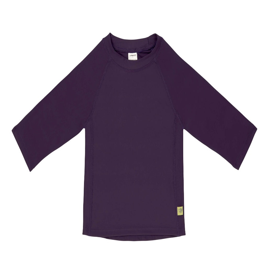 Lassig Girl Long Sleeve Rash guard, Plum Jam