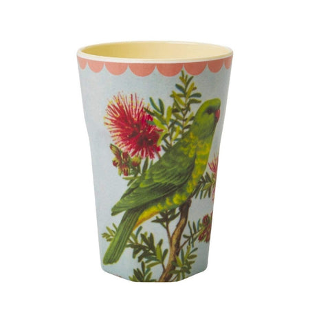 Rice Melamine Latte Cup Two Tone