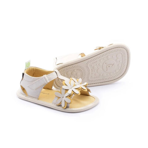Tip Toey Joey Daisy - Antique White/Pequi
