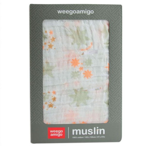 Weegoamigo Cotton Muslin Single Pack