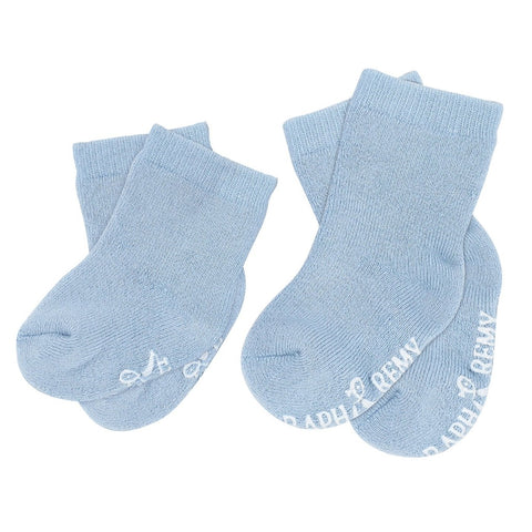 Raph&Remy Premium Bamboo Baby Socks Duo Set