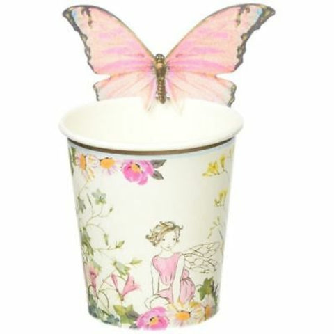 Talking Tables Truly Fairy Cups with Butterfly Trim