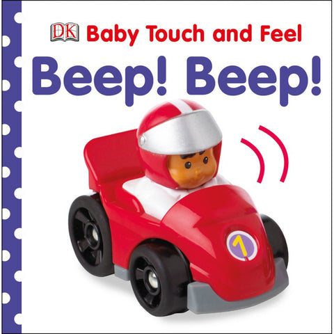 DK Books - Baby Touch and Feel Beep! Beep!
