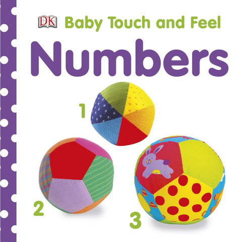 DK Books - Baby Touch and Feel Numbers 1, 2, 3