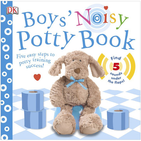 DK Books - Boys' Noisy Potty Book