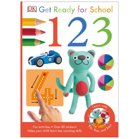 DK Books - Get Ready for School 1 2 3