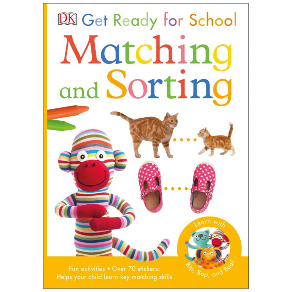DK Books - Get Ready for School Matching & Sorting