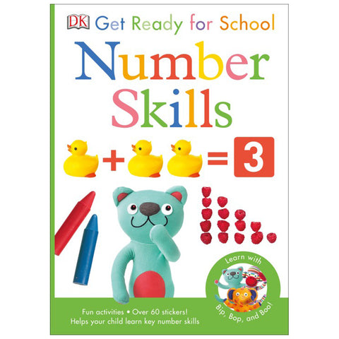 DK Books - Get Ready for School Number Skills