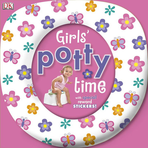 DK Books - Girls' Potty Time