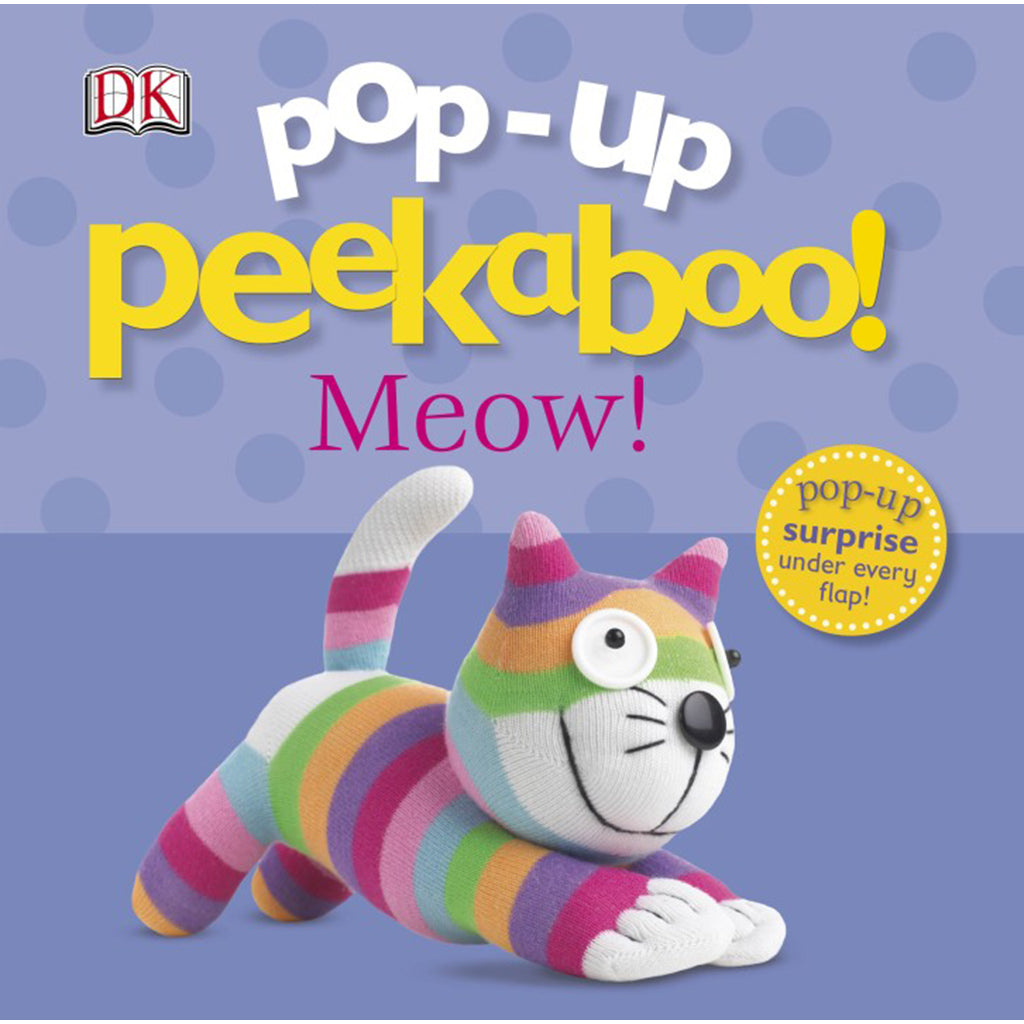 DK Books - Pop-Up Peekaboo! Meow