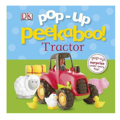 DK Books - Pop-Up Peekaboo! Tractor