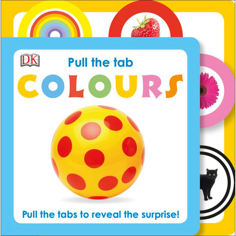 DK Books - Pull The Tab Colours
