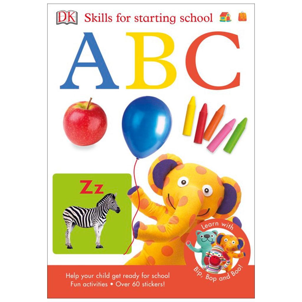 DK Books - Skills for Starting School ABC