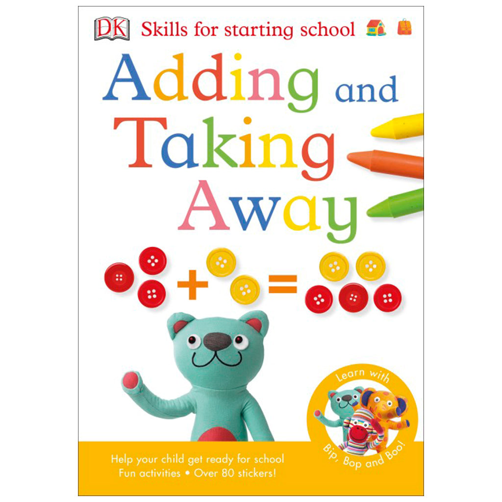 DK Books - Skills for Starting School Adding & Taking Away