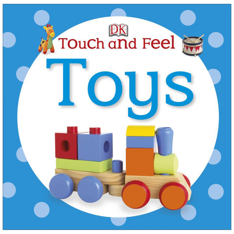 DK Books - Touch and Feel Toys